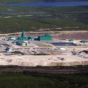 The uranium mine at McArthur River in Saskatchewan, once the world's largest uranium producer, is owned by the companies Cameco and AREVA.